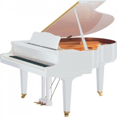 Pianos Acustico YAMAHA PIANO DE COLA 151 CM. (BLANCO BRILLANTE) CON BANCO PGB1KPWH - Envío Gratuito