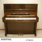 Pianos Acustico ROSENTHAL PIANO VERTICAL 115M3 NOGAL ESTUDIO C/BANCA ROSENTHAL  UP115M3-NOG