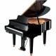 Pianos Acustico YAMAHA Piano disklavier de cola, E3 149 cm, Negro Brillante, incluye banco y 2 bocinas MSP3  PDGB1KE3PESET - Env