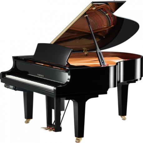 Pianos Acustico YAMAHA Piano Disklavier de cola E3 161 cm Serie X Negro Brillante, incl. Banco y 2 bocinas MSP3  PDC1XE3PESET -