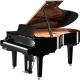 Pianos Acustico YAMAHA Piano Disklavier de cola E3 186 cm Serie X Negro Brillante, incl. Banco y 2 bocinas MSP3  PDC3XE3PESET -