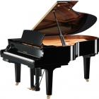 Pianos Acustico YAMAHA Piano Disklavier de cola E3 186 cm Serie X Negro Brillante, incl. Banco y 2 bocinas MSP3  PDC3XE3PESET
