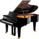 Pianos Acustico YAMAHA Piano de cola Serie Concierto CF 191cm. (Negro Brillante) con banco PCF4PE - Envío Gratuito