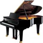 Pianos Acustico YAMAHA Piano de cola Serie Concierto CF 191cm. (Negro Brillante) con banco PCF4PE