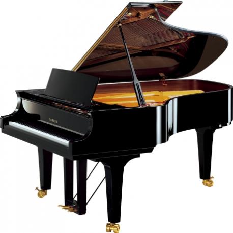 Pianos Acustico YAMAHA Piano de cola Serie Concierto CF 212cm. (Negro Brillante) con banco  PCF6PE - Envío Gratuito