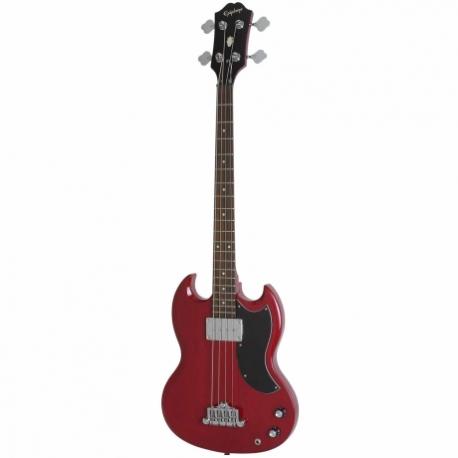 Guitarra Eléctrica EPIPHONE EB-0 Bass (1 P/U) Cherry Ch Hdwe  EBG0CHCH1 - Envío Gratuito