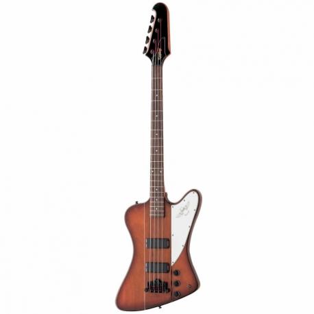 Guitarra Eléctrica EPIPHONE T-Bird 4 Stg Reverse Vint. Sunburst Bk Hdwe  EBTBVSBH1 - Envío Gratuito