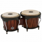 Bongo LATIN PERCUSSION BONGO LP CITY, MANGO TALLADO COLOR CAOBA MOD. LP601NY-CMW 3200126 - Envío Gratuito