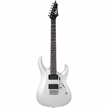 Guitarra Eléctrica CORT GUIT. ELEC. CORT X BCA. MET. Mod. X-1 WH 8213322 - Envío Gratuito
