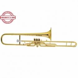 Trompeta JUPITER TROMBON EMB. DO JUPITER LAQ. C/ESTUCHE MOD. JVL-530L  4002345 - Envío Gratuito