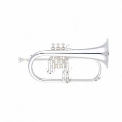 Flugerhorn YAMAHA Fluegelhorn Bugle Profesional en Bb, campana en latón dorado (Gold-brass), plateado BYFH631GS - Envío Gratuito