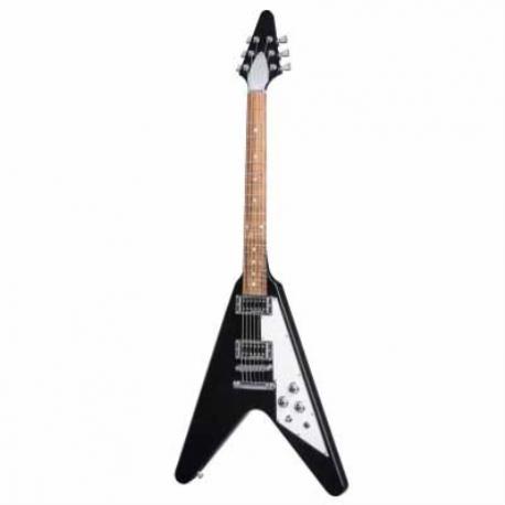 Guitarra Eléctrica GIBSON Flying V HP 2017 Ebony HDSV17EBCH1 - Envío Gratuito