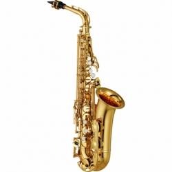 Saxofon YAMAHA Saxofón Alto Mi bemol  estándar con llave de Fa y Fa frontal  BYAS-280 - Envío Gratuito