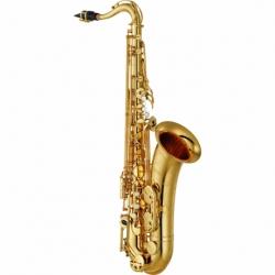 Saxofon YAMAHA Saxofón Tenor Si bemol (Bb) intermedio con llave de Fa y Fa frontal  BYTS-480 - Envío Gratuito