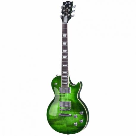 Guitarra Eléctrica GIBSON Les Paul Classic HP 2017 Green Ocean Burst  HLPCS17G6CH1 - Envío Gratuito