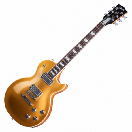 Guitarra Eléctrica GIBSON Les Paul Classic HP 2017 Gold Top HLPCS17GTCH1 - Envío Gratuito