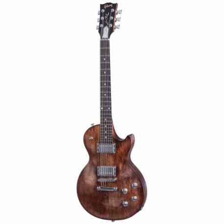 Guitarra Eléctrica GIBSON Les Paul Faded HP 2017 Worn Brown HLPF17WBCH1 - Envío Gratuito