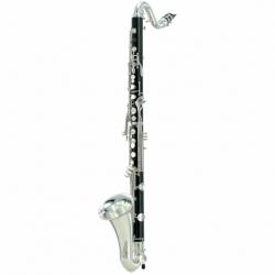 Clarinet YAMAHA Clarinete Bajo en Bb Profesional, 20 llaves BYCL621II - Envío Gratuito