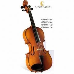Violin CREMONA VIOLIN ESTUDIANTE 4/4 NATURAL CR005 - Envío Gratuito