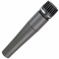 Microfonia Shure SM57-LC Ins/Voc Dinámico Cardioide  SM57-LC - Envío Gratuito