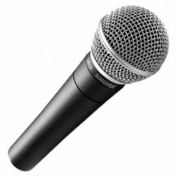 Microfonia Shure SM58-LC Vocal Dinámico Cardioide  SM58-LC - Envío Gratuito