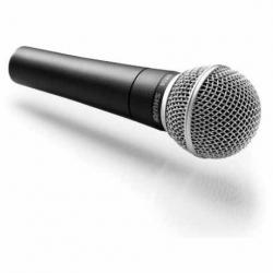 Microfonia Shure SM58S Vocal Dinámico Cardioide  SM58S - Envío Gratuito