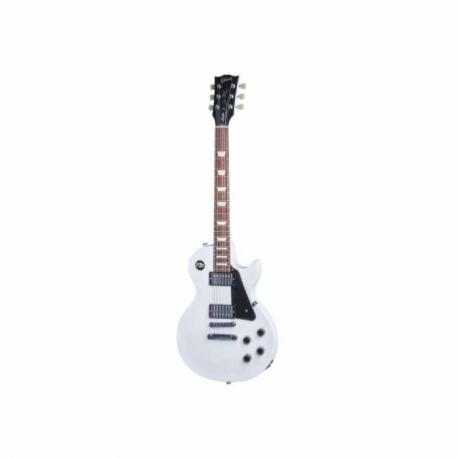 Guitarra Eléctrica GIBSON LP Studio 2016 T Alpine White Ch Hdwe  LPSTUAWCH1 - Envío Gratuito