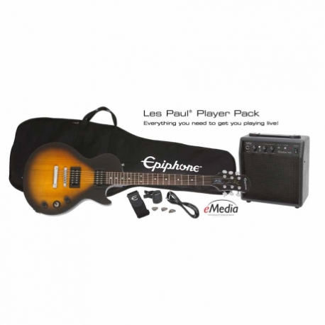 Guitarra Eléctrica EPIPHONE Les Paul Electric Guitar Player Pack  PPEG-EGL1VSCH1 - Envío Gratuito