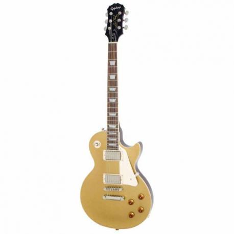 Guitarra Eléctrica EPIPHONE LP Standard Met. Gld Ch Hdwe  ENS-MGCH1 - Envío Gratuito