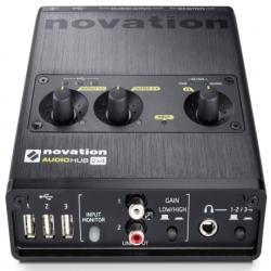 Interfac NOVATION USB NOVATION AUDIO HUB 2X4 MOD. NOVHUB01 - Envío Gratuito