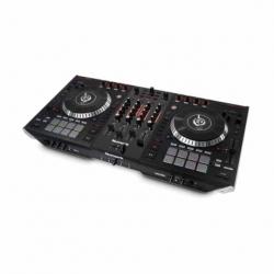 Controlador NUMARK CONTROLADOR PROFESIONAL DE DJ 4 CANALES, PADS, PLATOS MOTORIZADOS USB/MIDI - Envío Gratuito