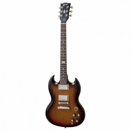 Guitarra Eléctrica GIBSON SG SPECIAL SOMB/CAFE C/FUN GIBSON  SGSP14F5-CH1 - Envío Gratuito