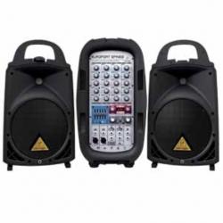 Amplificador PA BEHRINGER SISTEMA BEHRINGER PORTATIL MOD. EPA300 - Envío Gratuito
