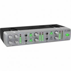 Amplificador PA BEHRINGER AMPLIFICADOR BEHRINGER P/AUDIF. AMP800 - Envío Gratuito