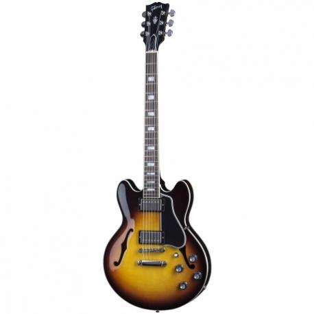 Guitarra Eléctrica EPIPHONE ES-335 STUDIO SEMI-HOLLOW-BODY SUNB ESSD14VSNH1 - Envío Gratuito