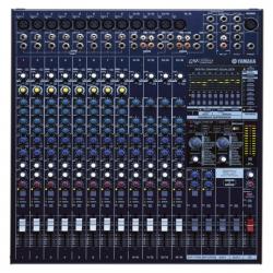 Mezcladora YAMAHA Consola Mezcladora de 16 canales (Amplificador integrado 500w x 2) Mod. EMX5016CF - Envío Gratuito