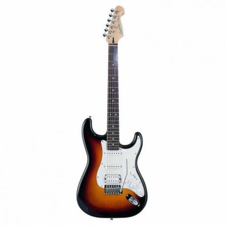 Guitarra Eléctrica CRUZER GUITARRA CRUZER ELECTRICA ST-200  ISCRZST2003TS - Envío Gratuito