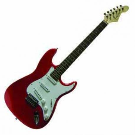 Guitarra Eléctrica MARS GUITARRA MARS ELECTRICA ROCK ST  ISMASROCKSTMRD - Envío Gratuito