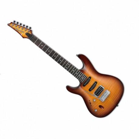 Guitarra Eléctrica IBANEZ GUITARRA ELEC. SA SOMB. ZURDA MOD. SA160FML-BBT 8202495 - Envío Gratuito