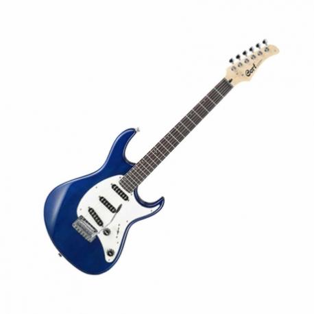 Guitarra Eléctrica CORT GUITARRA ELEC. G AZUL TRANS. MOD. G200 TB 8213784 - Envío Gratuito