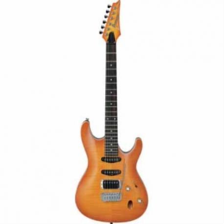 Guitarra Eléctrica IBANEZ GUITARRA ELEC. SA AMBAR SOMB. MOD. SA260FM-AMB 8202224 - Envío Gratuito