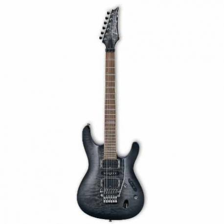 Guitarra Eléctrica IBANEZ GUITARRA ELEC. S GRIS TRANSP. MOD. S570DXQM-TGB  8203218 - Envío Gratuito