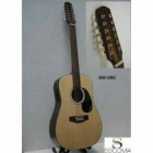 Guitarra Electroacustica SEGOVIA GUITARRA TEXANA E/ACUSTICA NATURAL 12 CDAS METAL  SGD20EC - Envío Gratuito
