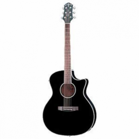 Guitarra Electroacustica CRAFTER GUITARRA CRAFTER E/ACUSTICA EG-140CEQBK  ISCRFEG140CEQ - Envío Gratuito