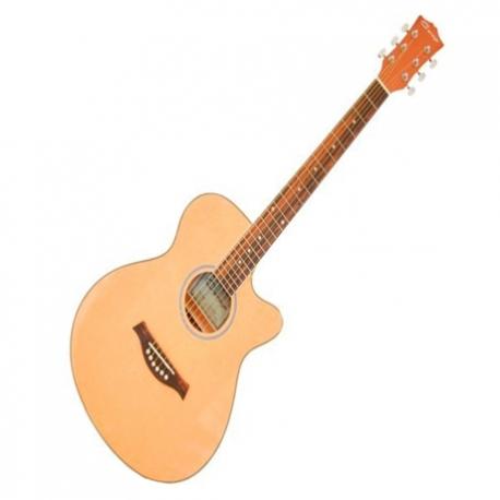 Guitarra Electroacustica CARAYA GUITARRA ELECTROACUSTICA NAT. CDAS.NY C/ESTUCHE MOD. C551BCEQ/N  8213470 - Envío Gratuito