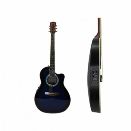 Guitarra Electroacustica CARAYA GUITARRA ELECTROACUSTICA AZUL CDAS.AC.C/ESTUCHE MOD. SP721CEQ/BLS  8213475 - Envío Gratuito
