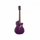 Guitarra Electroacustica LUNA GUITARRA ELECTROACUSTICA LUNA FLORA PURPURA TRANSP. MOD. FLO PF QM  8202886