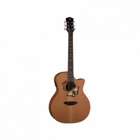 Guitarra Electroacustica LUNA GUITARRA ELECTROACUSTICA LUNA ORACLE BUTTERFLY NAT. MOD. OCL BTF  8202891 - Envío Gratuito