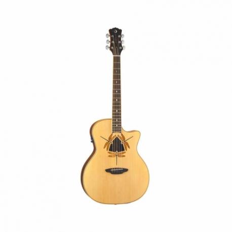 Guitarra Electroacustica LUNA GUITARRA ELECTROACUSTICA LUNA ORACLE DRAGONFLY NAT. MOD. OCL DFY 8202892 - Envío Gratuito