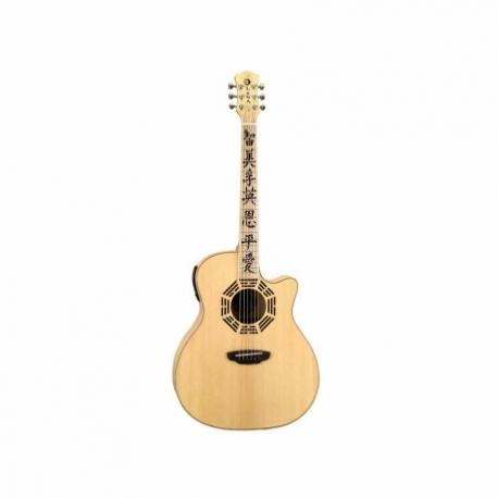 Guitarra Electroacustica LUNA GUITARRA ELECTROACUSTICA LUNA ORACLE ZEN NAT. MOD. OCL ZEN  8202894 - Envío Gratuito